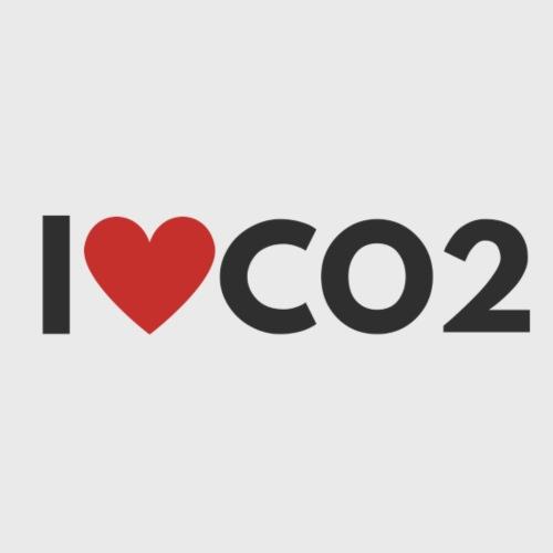I LOVE CO2 - Naisten premium t-paita