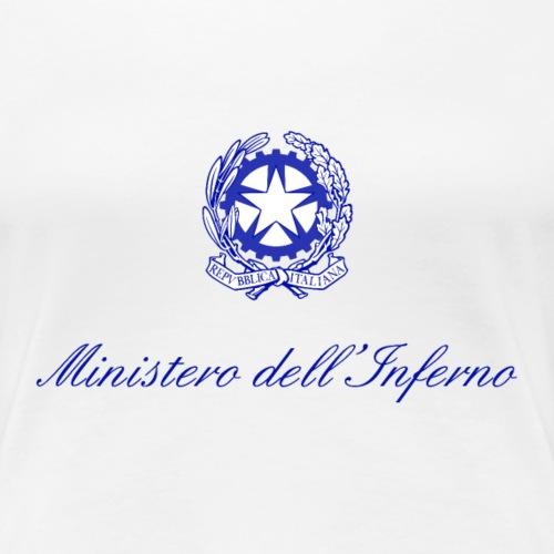 MINISTERO INFERNO - Maglietta Premium da donna
