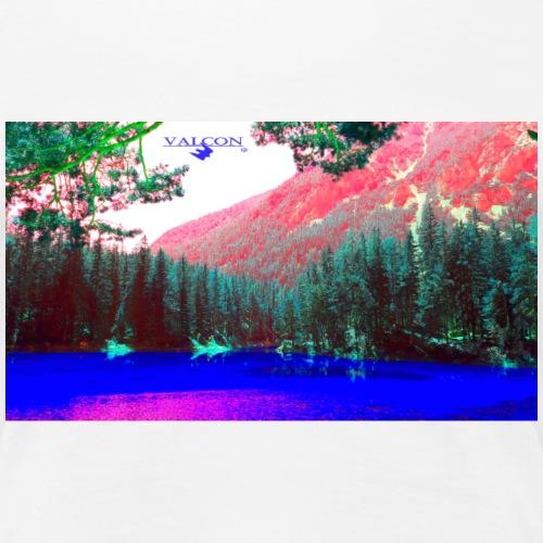 Natur Farben greenlake - Frauen Premium T-Shirt