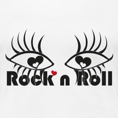 Eye Love Rock n Roll - Women's Premium T-Shirt