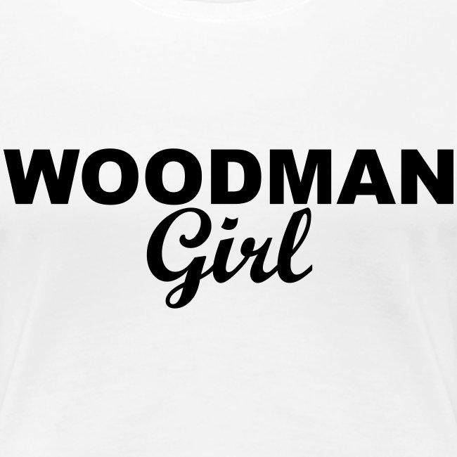 WOODMAN Girl, black
