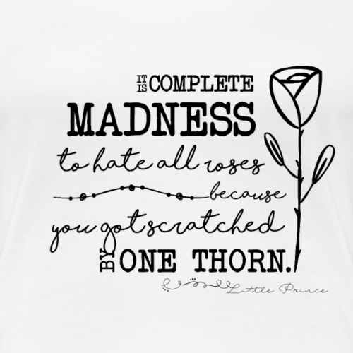 Little Prince - Quote - Women's Premium T-Shirt