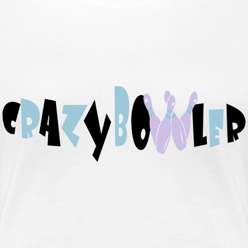Crazy - Bowler 2 - Frauen Premium T-Shirt