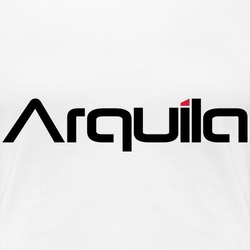 arquila schrift - Frauen Premium T-Shirt