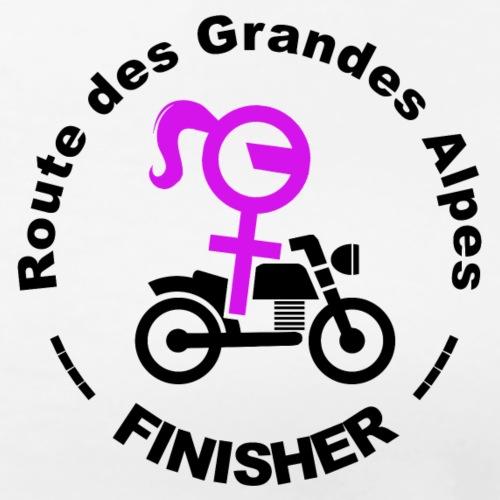route des Grandes Alpes finisher girl - T-shirt Premium Femme