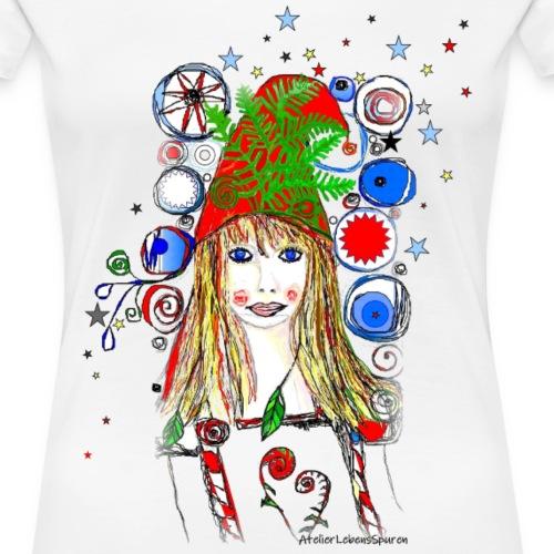 Farnmädchen - Frauen Premium T-Shirt
