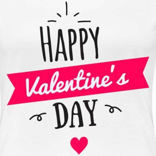 february san balentin - Camiseta premium mujer