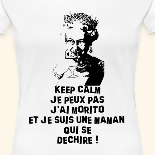 t shirt keep morito blanc - T-shirt Premium Femme