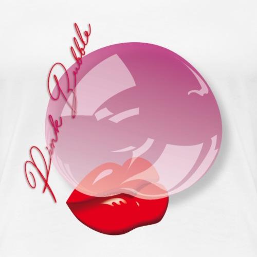 bocca con pallone write - Maglietta Premium da donna