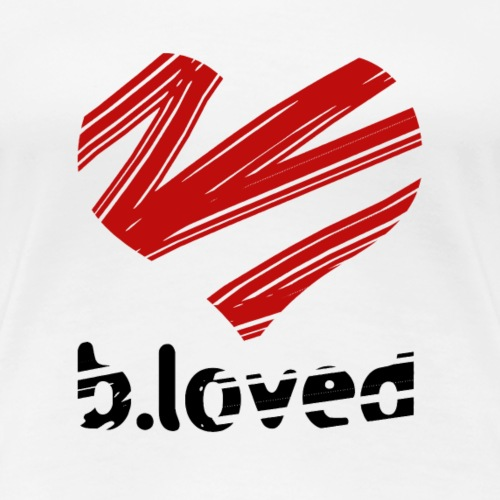 b-loved - Koszulka damska Premium