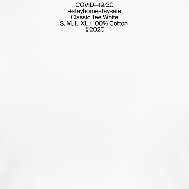 too close Classic Tee white