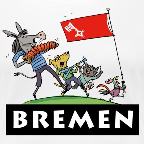 Bremen - Frauen Premium T-Shirt