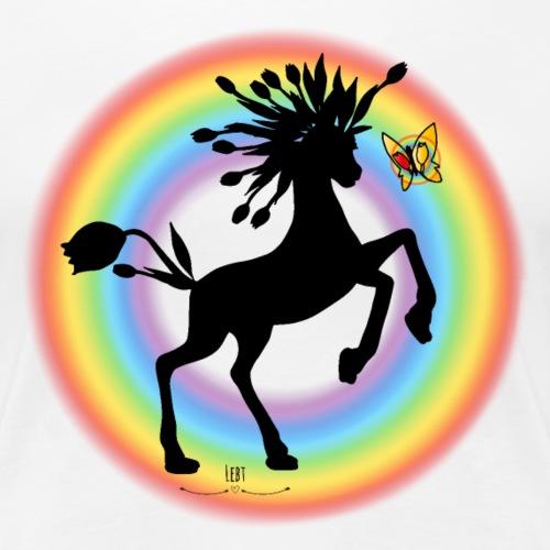 Flosgus- over the rainbow - Frauen Premium T-Shirt