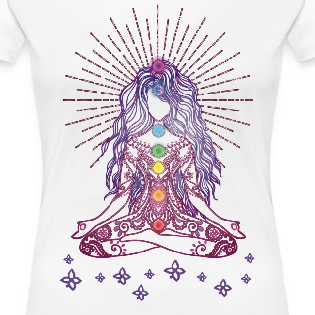 Boho Yoga Style Mädel Happy Mind Happy Life