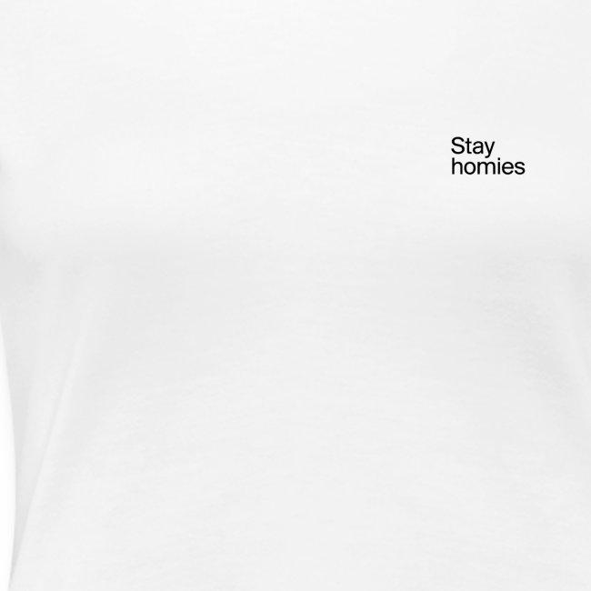 Stay homies Classic Tee White