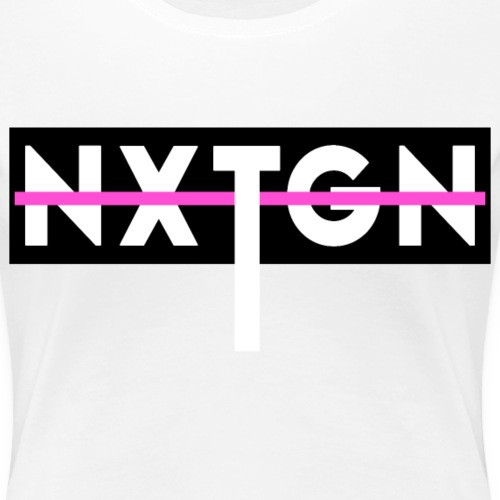 NXTGN x II x Woman - Frauen Premium T-Shirt