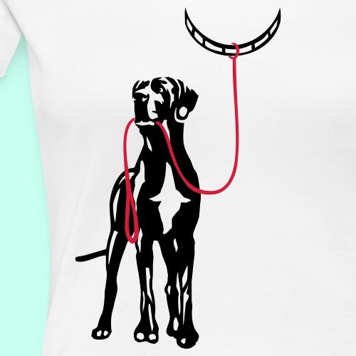 Wenn Hunde erziehen - Frauen Premium T-Shirt