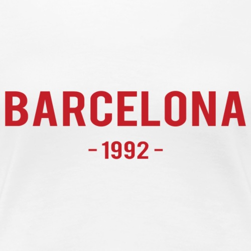Barcelona 1992 - Women's Premium T-Shirt