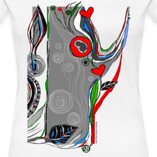 SCHWANGERSCHAFT - Frauen Premium T-Shirt