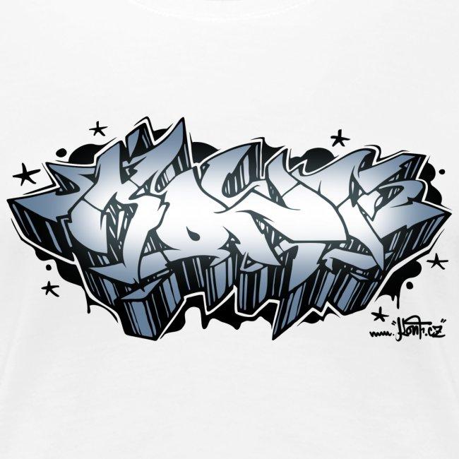 graffiti konf silver