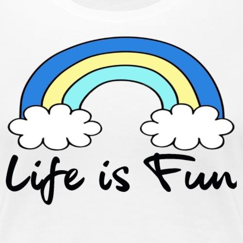 Rainbow - T-shirt Premium Femme