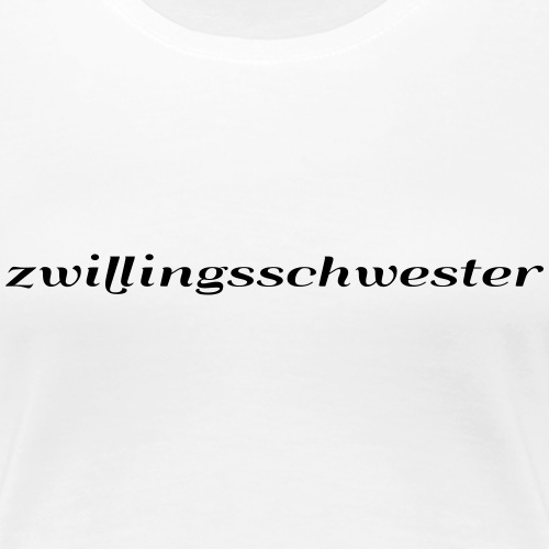 twin sister - Women's Premium T-Shirt