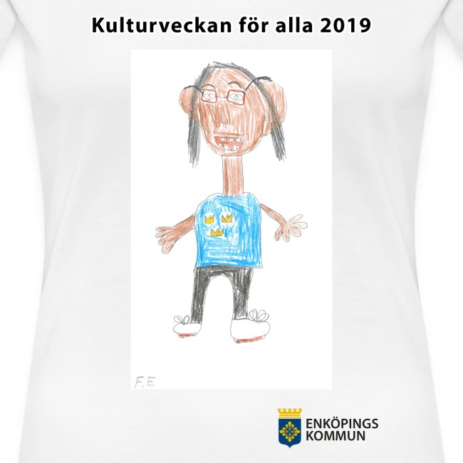 Kulturtröja 2019 vit