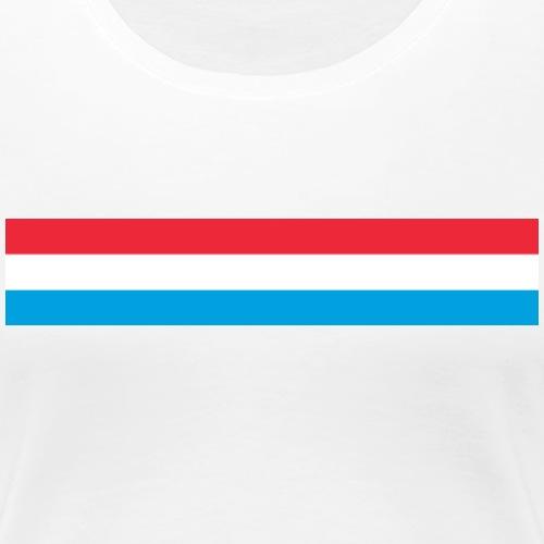 Roud Waiss Blo - Frauen Premium T-Shirt