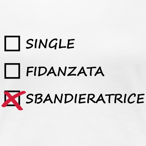 single fidanzata sbandieratrice