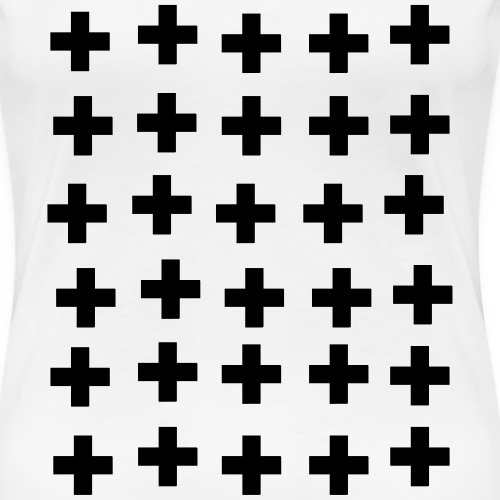 Kreuze - Frauen Premium T-Shirt