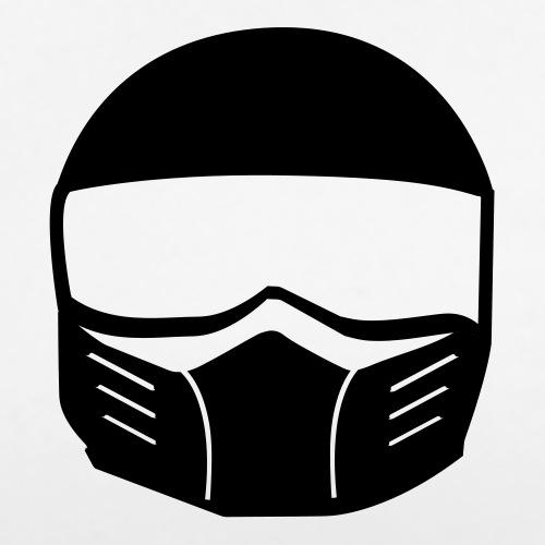 Fighter Helm - Frauen Premium T-Shirt