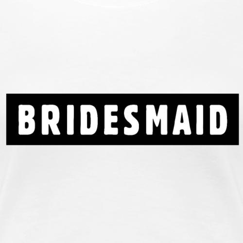 Bridesmaid Design JGA Polterer - Frauen Premium T-Shirt
