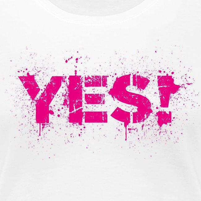 Yes! Ja Pink Junggesellenabschied