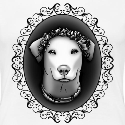FarbPfoten by Lin - JEANNIE - Frauen Premium T-Shirt