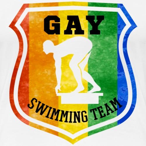 Gay Swimming Team - Frauen Premium T-Shirt