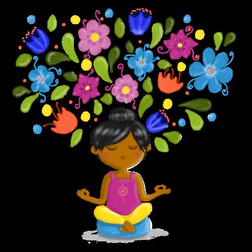 Meditation - Gedanken formen Deine Welt - Frauen Premium T-Shirt