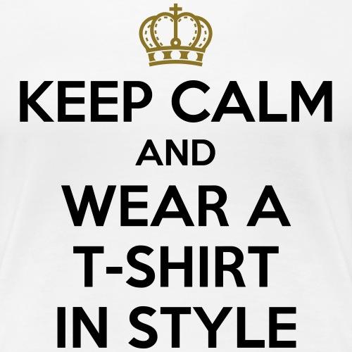KEEP CALM - Women's Premium T-Shirt