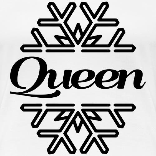 schneezeit Queen - Frauen Premium T-Shirt