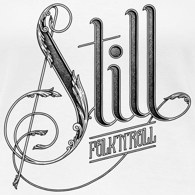 Still Logo - Black