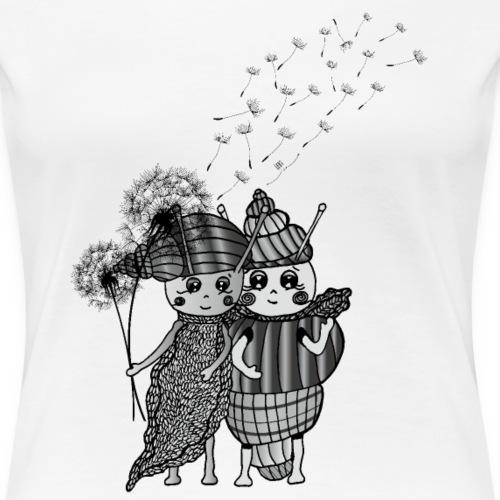 Archa & Tina - Frauen Premium T-Shirt