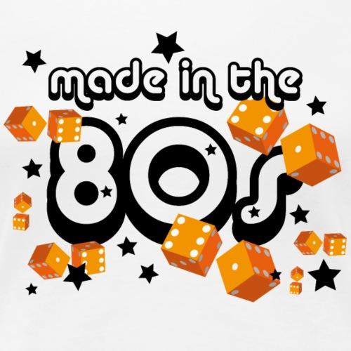 Made in the 80s – Orange - Frauen Premium T-Shirt