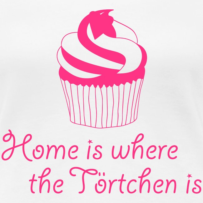 Home is where the Törtchen is Cupcake