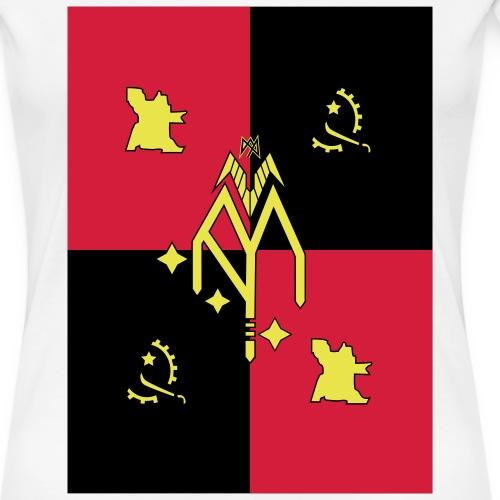 Angola - Frauen Premium T-Shirt