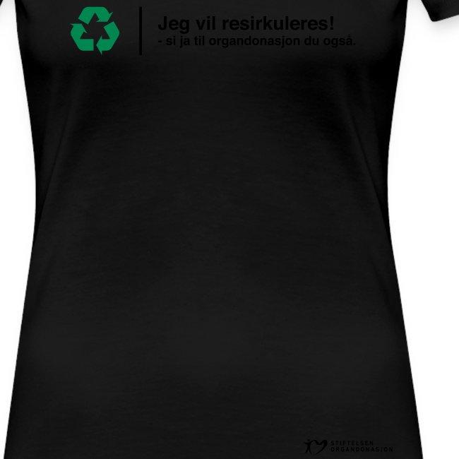 Jeg vil resirkuleres!