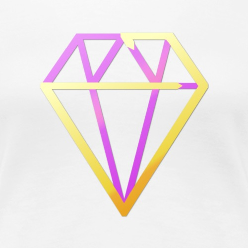 Diamond Pink - Women's Premium T-Shirt