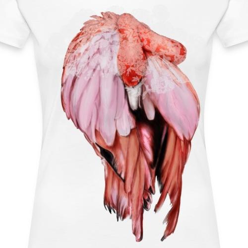 Pink Flamingo - Maglietta Premium da donna