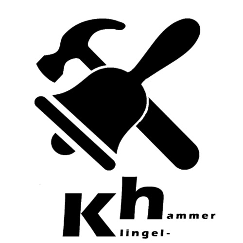KlingelHammer1 3 black - Frauen Premium T-Shirt
