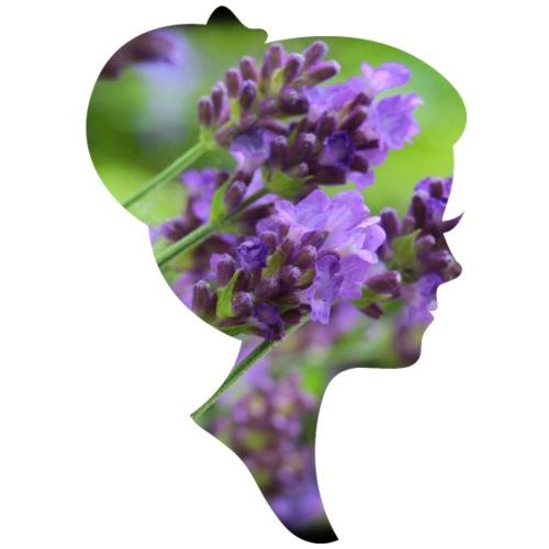 Lavendel-Dame - Frauen Premium T-Shirt