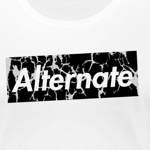 ALT-PREME / Cracked - Women's Premium T-Shirt