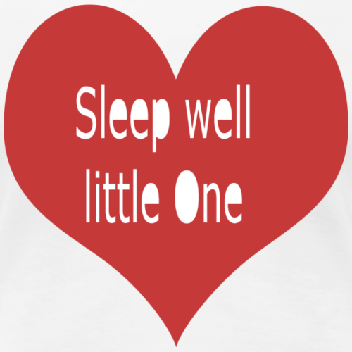 sleep well - Frauen Premium T-Shirt